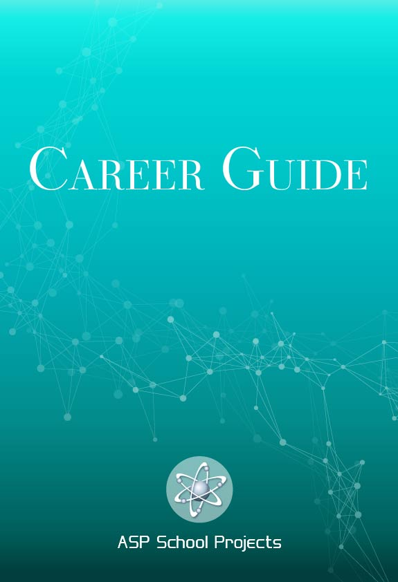 Career advice for teenagers giving guidance for field of study, university applications and occupations